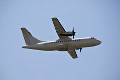 ATR-42 - Air Cargo Plane Stock Photo