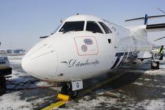 ATR 42 DI TAROM Fotografia Stock