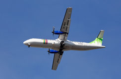 ATR 72-500 Fotografering för Bildbyråer