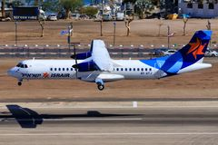 ATR 72-200 d'Israir Airlines photos stock