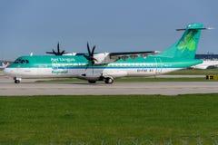 ATR 72-600 de Aer Lingus Fotografía de archivo