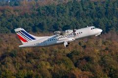 ATR 42 de Airlinair Air France Imagens de Stock