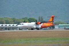 ATR 72-600 degli aerei della lucciola fotografia stock