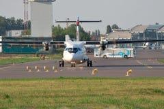 ATR-72 regional plane Royalty Free Stock Photography