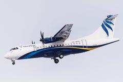 ATR 42-500 VQ-BPE Nordstar Arkivbilder