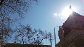 A atração da cidade é o arco do Tsarevich video estoque
