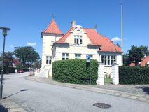 Atração da cidade Herning, Dinamarca Fotografia de Stock Royalty Free