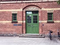 Atração da cidade Herning, Dinamarca Imagem de Stock
