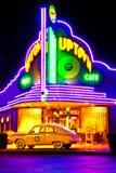 Atração da parte alta da cidade de Ozark do café em Branson Mo Fotos de Stock Royalty Free