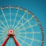 Atração da roda de Ferris. foto de stock