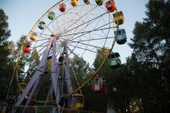 Atração da roda de Ferris Imagem de Stock Royalty Free