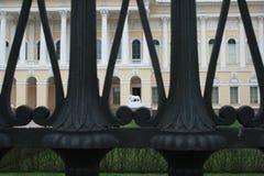 Atração do Leão de St Petersburg Fotos de Stock