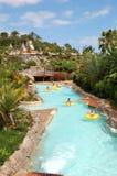Atrações da água no waterpark de Sião Foto de Stock Royalty Free