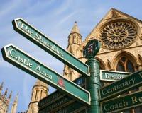 Atrações da cidade de York imagens de stock