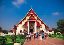 Atrações turísticas, fazendo o mérito, feriado, cidade velha bonita de Tailândia foto de stock royalty free