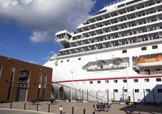 Atracado en Halifax Foto de archivo