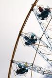 Atracción de la rueda de Ferris. Foto de archivo