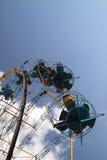 Atracción de la rueda de Ferris. Imagen de archivo libre de regalías