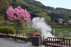 Atracción del infierno del mar en Beppu Foto de archivo