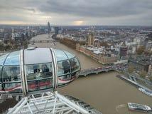 Atracción del ojo de Londres Fotografía de archivo libre de regalías