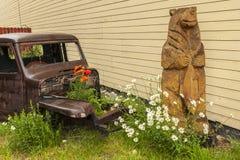 Atracción Silverton Colorado de la acera Imagen de archivo libre de regalías
