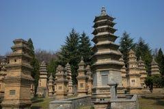 Atracción turística famosa del ` s de Henan, China, Shaolin Temple, Songshan Fotos de archivo