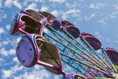 Atracción en parque Imagen de archivo libre de regalías