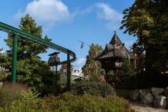 Atracciones del parque en Alemania Imagen de archivo