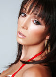 Atractive brunette, portrait 3 Royalty Free Stock Images