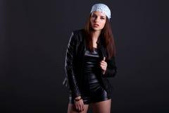 Atractive girl Stock Photos