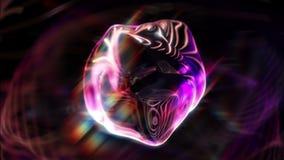 Atractivo misterioso de Syko 1080p Orbe-como el lazo video del fondo libre illustration