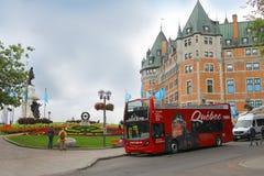 Atrações de Cidade de Quebec Foto de Stock Royalty Free