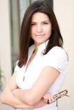 atrakcyjna biznesowa kobieta Fotografia Stock