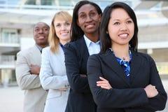 atrakcyjna biznesowa różnorodna drużyna Zdjęcie Stock