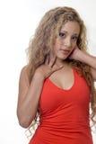 atrakcyjna blondynka twarz kobiety zdjęcia stock