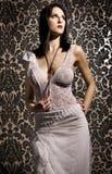 atrakcyjna brunetka Zdjęcia Stock