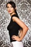 atrakcyjna brunetka Fotografia Royalty Free