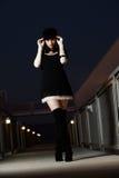 atrakcyjna brunetki caucasian kobieta Fotografia Royalty Free