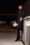 atrakcyjna brunetki caucasian kobieta Obrazy Stock