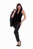 atrakcyjna brunetki forties latynosa kobieta Fotografia Stock