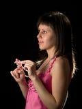 atrakcyjna dama Fotografia Stock
