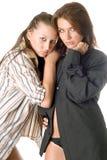 atrakcyjna dwa kobiety zdjęcie royalty free