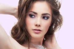 atrakcyjna dziewczyna Obrazy Royalty Free