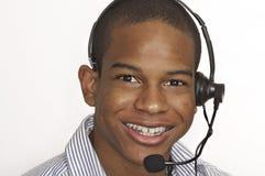 atrakcyjna klienta mężczyzna usługa zdjęcie royalty free