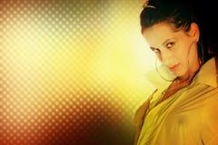 atrakcyjna kobieta Obraz Royalty Free