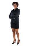 atrakcyjna kobieta jednostek gospodarczych Obrazy Royalty Free