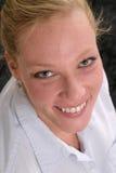 atrakcyjna kobieta jednostek gospodarczych Zdjęcia Royalty Free