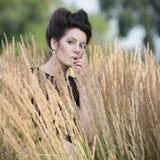 atrakcyjna kobieta portret Fotografia Stock
