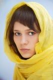 atrakcyjna kobieta welon Zdjęcia Stock