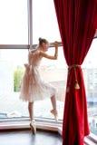 Atrakcyjna młoda balerina Fotografia Royalty Free